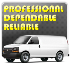 our techs are professional, dependable and reliable